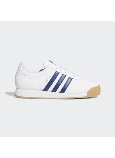 adidas Erkek Samoa Sneakers EG6088 Beyaz